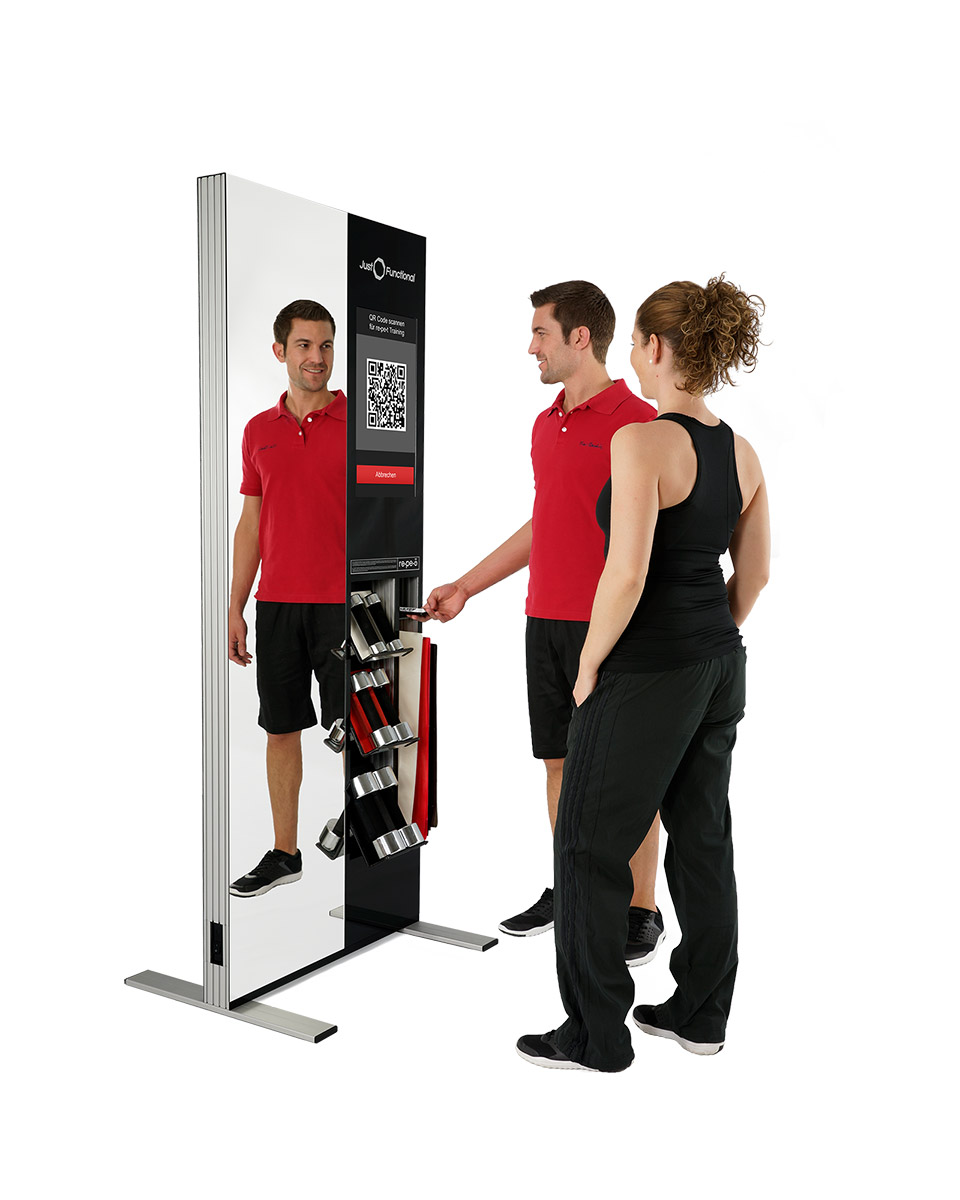 Virtuelle und funktionelle Trainingsstation MoveOne