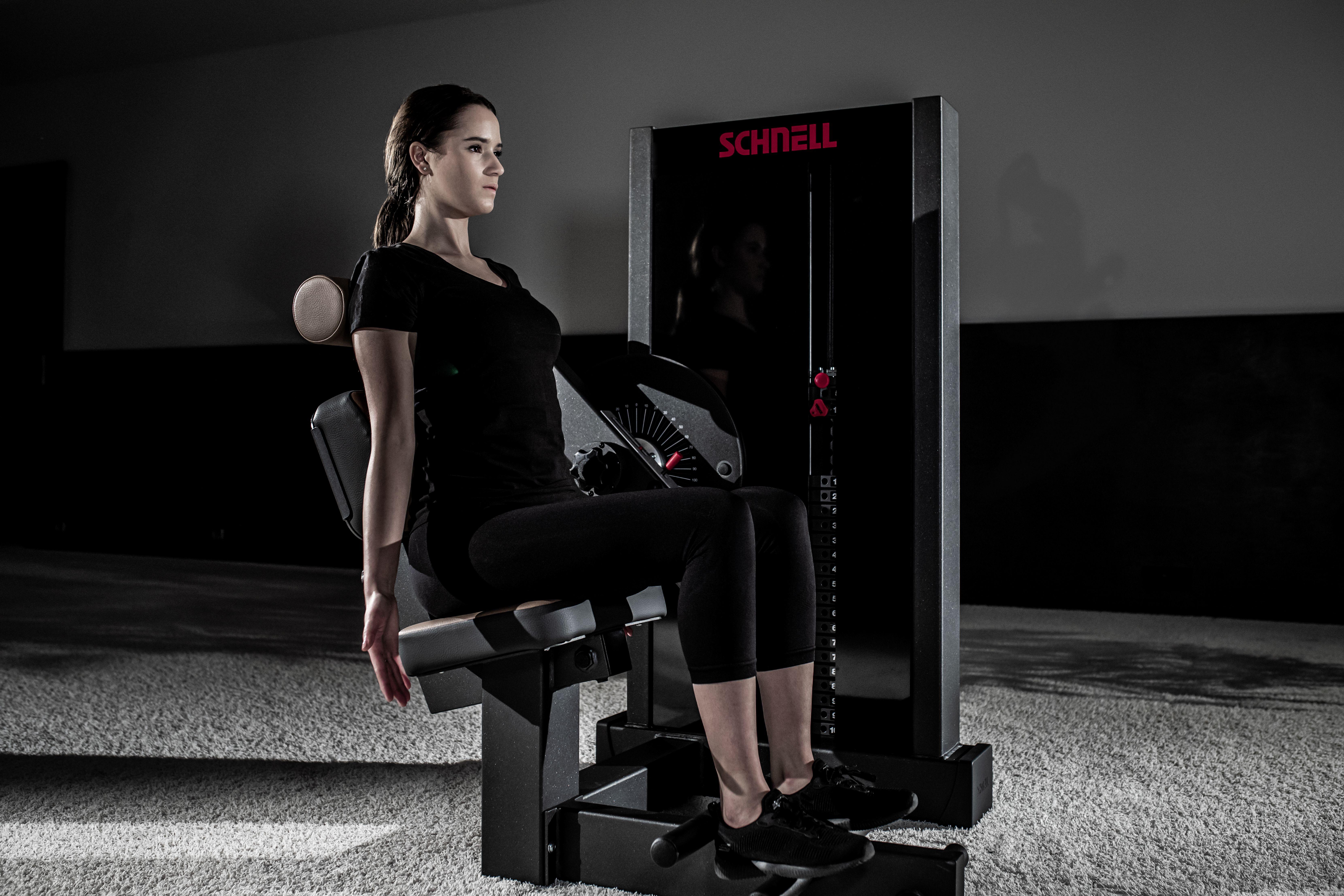 ALL NEW TARGET Line Med Therapiegeräte mit Steckgewichten
