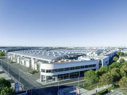 Aerial view Messe München